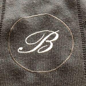 Black Knit Bogner Sweater